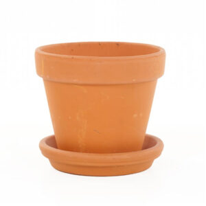 Terracotta pot oranje
