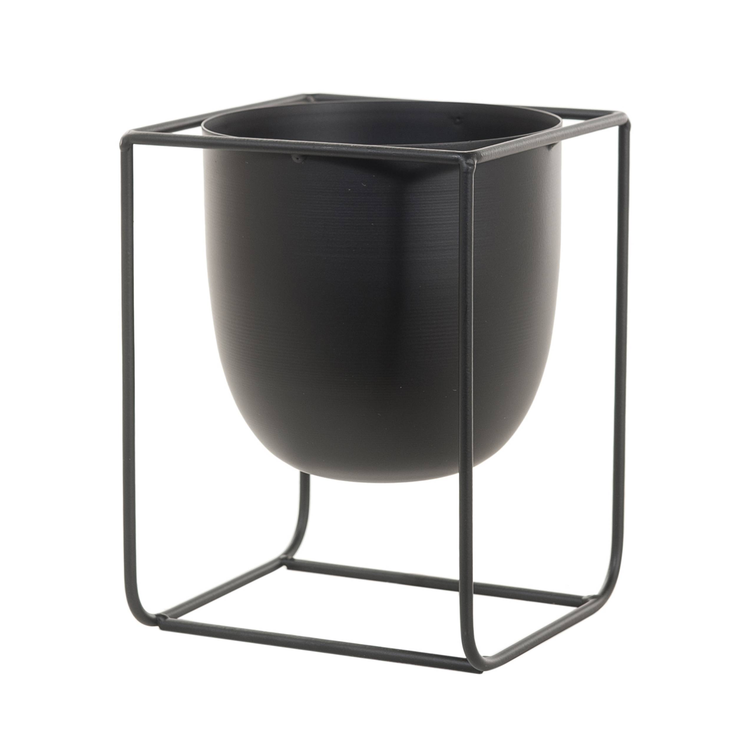plantenpot urban black